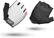 GripGrab Rouleur Padded Short Finger Gloves white S 2020 Handskar för racer