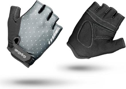 GripGrab Rouleur Padded Short Finger Gloves Women grey M 2020 Handskar för racer