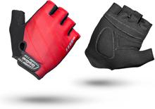 GripGrab Rouleur Padded Short Finger Gloves red S 2020 Handskar för racer