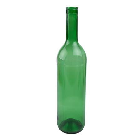 Vinflaska Grön Bordeauxtyp 12-p