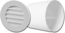 Fresh Intellivent Celsius G100 Genomföringsrör med galler, för innervägg