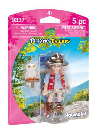 PLAYMOBIL 9337 parkbetjent - ToysRUs.dk