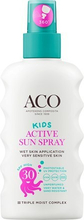 ACO Kids Active Sun Spray SPF30, 175 ml