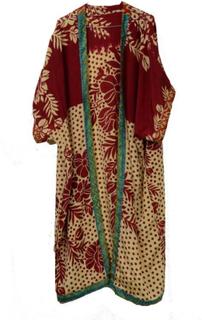 Sari Kimono Throw Colours n' Beige