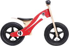 """Rebel Kidz Wood Air potkupyörä 12"""" , punainen 12"""" 2019 Lasten kulkuneuvot"""