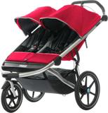 Thule Urban Glide barnvagnar 2-sits röd/svart 2017