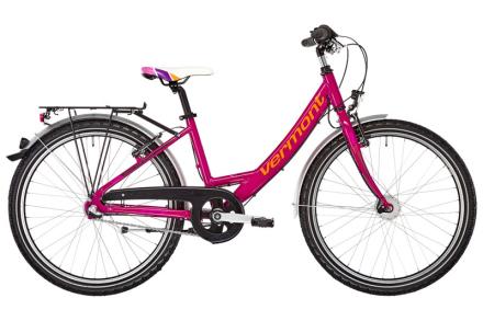 Vermont Lola 24 Lapset lasten polkupyörä , vaaleanpunainen 36 cm 2018 Lasten kulkuneuvot
