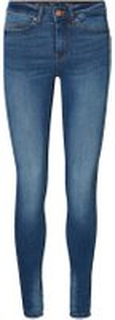 NOISY MAY Julie Nw Push Up Skinny Fit Jeans Kvinder Blå