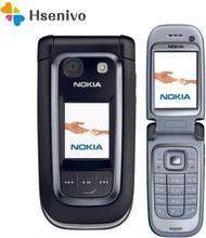 Nokia 6267 Refurbished-Original Filp 6267 Unlocked Mobile Phone Quad-Band Phone Russian Keyboard refurbished Free shipping