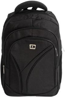 Skoletaske 26 liter - Sort rygsæk 45x33x19cm. Stor rummelig taske