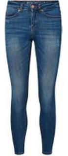 NOISY MAY Lucy Nw Ankel Skinny Fit Jeans Kvinder Blå