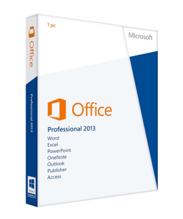 Microsoft Office Professional 2013 - Retail