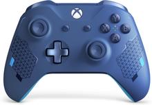 Xbox trådlös handkontroll – Sport Blue Special Edition
