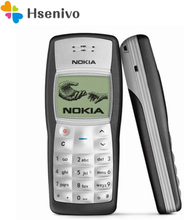 Nokia 1100 refurbished-Original Nokia 1100 Mobile Phone Unlocked GSM900/1800MHz Cellphone with Multi Languages 1 Year Warranty