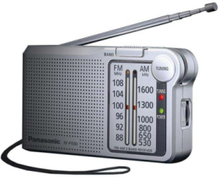 DAB-radio RF-P150DEG-S Private Radio Silver - AM/FM - Mono - Silver