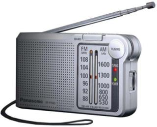 DAB portable radio -RF-P150DEG - privat radio - AM/FM - Mono - Silver