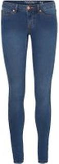 NOISY MAY Nmeve Low Waist Skinny Fit Jeans Kvinder Blå