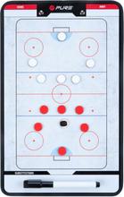 Pure2Improve dobbeltsidet trænertavle ishockey 35 x 22 cm P2I100640