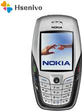 Nokia 6600 refurbished-Original NOKIA 6600 Mobile Phone Camera Unlocked GSM Triband White & one year warranty