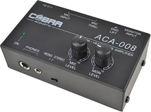 Microphone and Audio Headphone Mixer by Cobra