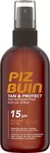 Piz Buin Tan & ProtectÖ Sun Oil Spray SPF15 150 ml