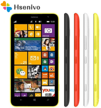 Nokia Lumia 1320 Refurbished-Original Unlocked cell phones Dual Core 6.0 inch 5MP Camera 8GB ROM 1GB RAM Free shipping