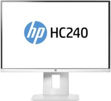 "24"" Skærm HC240 - Hvid - 8 ms"