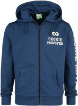 Sesam Stasjon - Cookie Monster -Hettejakke - blå