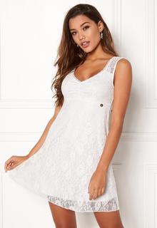Happy Holly Della lace dress White 44/46L