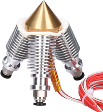 BIQU Brass Diamond Extruder Reprap Hotend 3D V6 heatsink 3 IN 1 OUT Multi Nozzle Extruder 3D printer kit for 1.75/0.4mm
