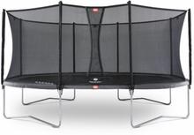 Berg Grand Favorit Oval 520x345 Grå Comfort Nett
