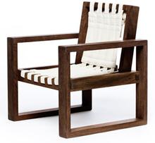 Änglamark stol - Collect Furniture Frame Chair - Small - Røget eg/hvid