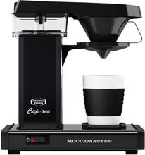 Moccamaster kaffemaskine - Cup-one - Matt Black