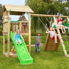 Jungle Gym Casa legetårn med klatremodul