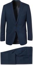 Hugo Boss - Navy Huge/genius Slim-fit Puppytooth Virgin Wool Suit - Blue - XXXL,Hugo Boss - Navy Huge/genius Slim-fit Puppytooth Virgin Wool Suit - Blue - M,Hugo Boss - Navy Huge/genius Slim-fit Puppytooth Virgin Wool Suit - Blue - L,Hugo Boss - Navy Huge