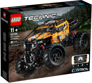 LEGO Technic Firhjulstrukket X-trem offroader