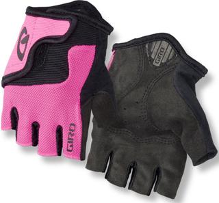 Giro Bravo Handskar Barn pink/svart L 2019 Cykelhandskar för barn