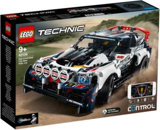 LEGO Technic App-styret Top Gear-rallybil
