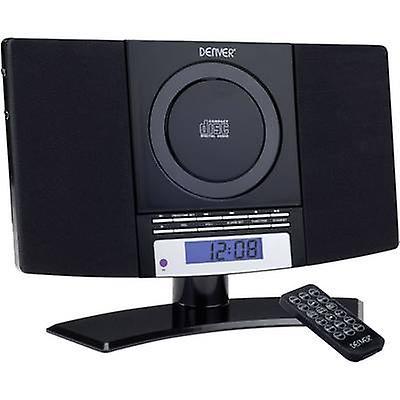 Denver MC-5220 lyd system AUX, CD, FM, veggfeste braketter svart