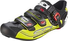 Sidi Genius 7 Shoes Herr black/yellow EU 46 2019 Landsvägsskor med klickfäste