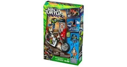 Mega Bloks Teenage Mutant Ninja Turtles Rocksteady Moto Attack
