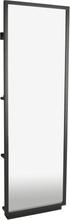 Golvspegel Confetti 185 cm - Svartbetsad ek
