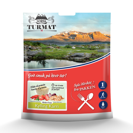 Norsk Turmat Kylling Curry