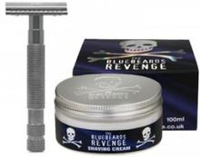 The Bluebeards Revenge Shaving Cream & Cutlass Kit 100 ml + 1 kpl