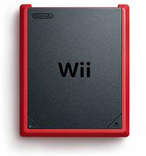 Wii mini Sort, Rød