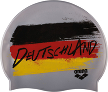 arena Print 2 Swimming Cap flag-deutschland 2018 Badehetter