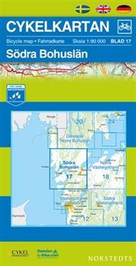 Norstedts Sykkelkart Ark 17 Søndre Bohuslän