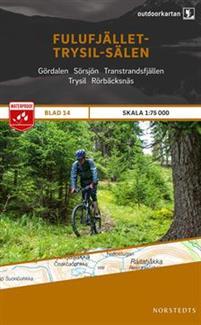 Norstedts Ark 14 Fulufjället-Trysil-Sälen 1:75 000