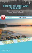 Norstedts Ark 28 Örskär- Grisslehamn-Furusund 1:50 000