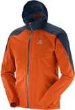 Salomon Bonatti Wp Jacka Herr Vivid Orange/Big Blu